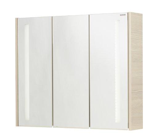 Fackelmann Spiegelschrank, Holz, Pinie, 16 x 79,5 x 67 cm