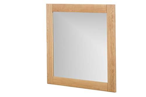 Marca Amazon -Alkove - Hayes - Espejo de madera maciza juego de 2, roble salvaje