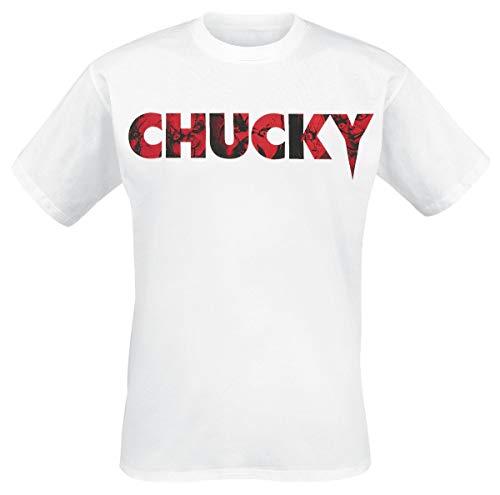 Chucky Logo T-Shirt weiß S
