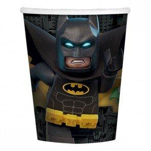 DC Comics Lego Batman Pappbecher, 266ml, 8Stück