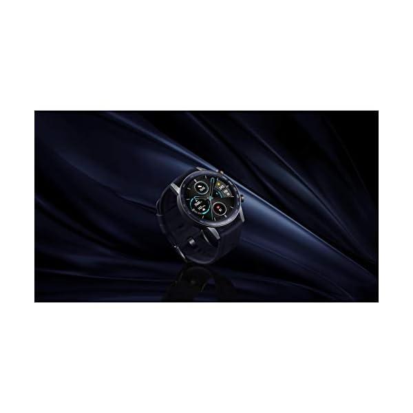 Honor MagicWatch 2 46 mm Smart Watch, con monitor de ritmo cardíaco y estrés, modos de ejercicio, aplicación para correr… 6