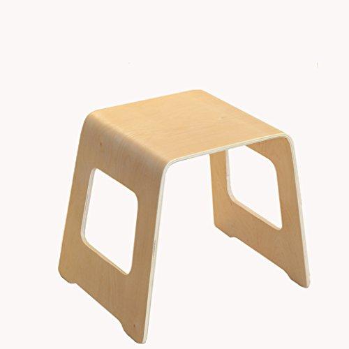 Preisvergleich Produktbild HHCS Massivholz-Kind-Bank-Stuhl-Umweltschutz-Lernstuhl Hocker & Stühle