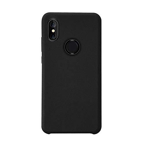 Funda Xiaomi Mi Mix 2S Silicona Ultra Suave TPU Gel Protectora Carcasa Caja Ultra Delgado Anti-Arañazos Absorción Impacto Cover para Xiaomi Mi Mix 2S Caso (Xiaomi Mi Mix 2S, Negro)