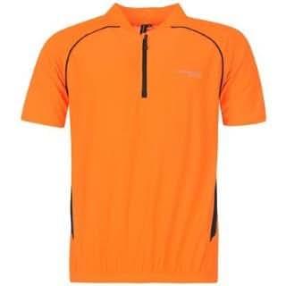 Muddyfox Short Sleeved Cycling Jersey Mens Orange/Black Large