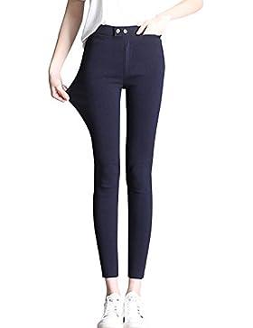 ShiFan Mujeres Pitillo Elástico Pantalones Elástica Casual Elegante Pantalón