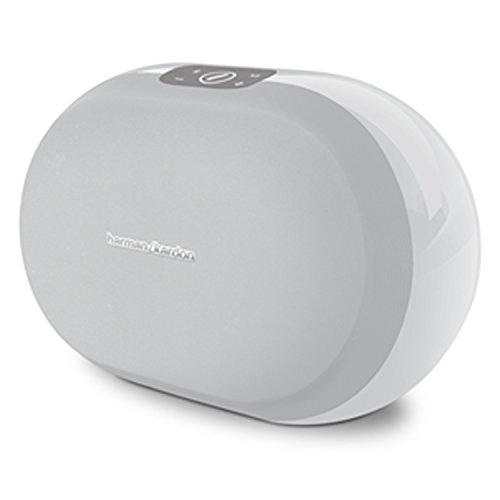 Harman-Kardon OMNI 20 Drahtloser HD-Lautsprecher Wireless WiFi Lautsprechersystem mit Bluetooth und Firecast Technologie für Multikanal/Multigerät Surroundsound Streaming - Weiß