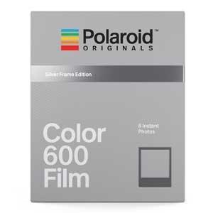 Polaroid Color Film argent Frame pour 600