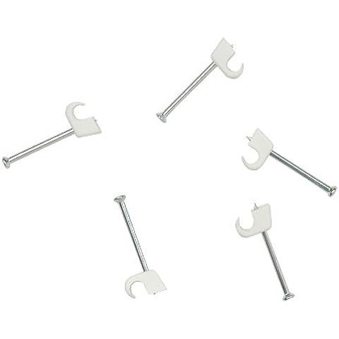 Unitec 456721 Express - Abrazaderas de plástico para cables (7 - 12 mm)