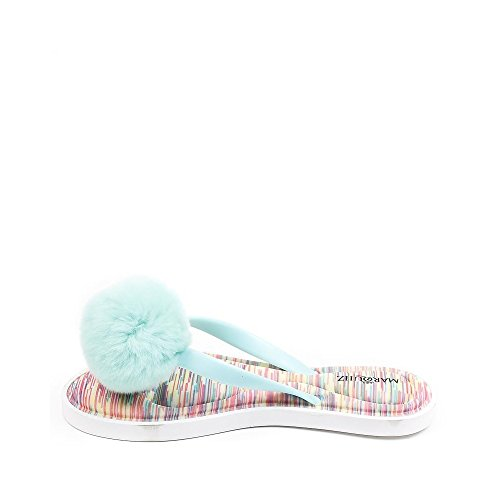 Ideal Shoes ,  Infradito donna Turquoise