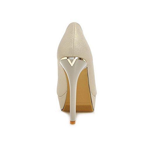 1TO9 da donna Pull-On-Spikes scritta formale in gomma, scarpe Gold