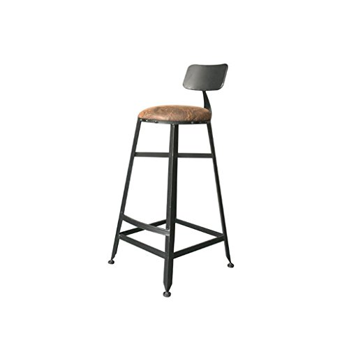 Rfjj tavolo da bar in ferro battuto e sedia creative single bar chair poltrona alta 42cm * 73cm * 86cm