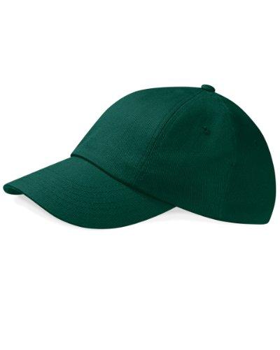 Low profile heavy cotton drill cap Green Low Profile Cap