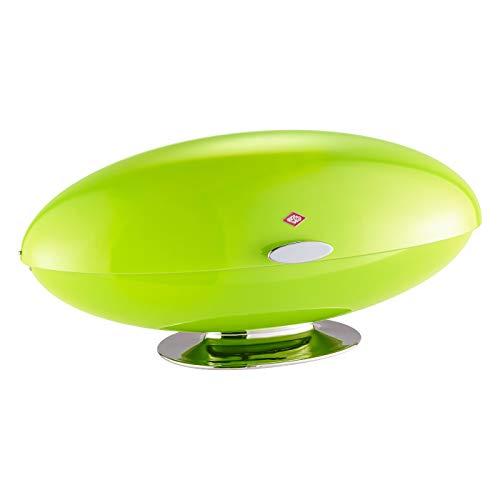 WESCO, Recipiente para el Pan, Oval, Verde Grün, un tamaño