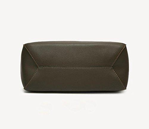 Eimer Typ Hit Farbe Schultertasche Diagonal Paket Handtasche Dame Lackleder Einfach Red