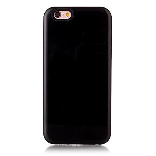 Ekakashop iphone 6 4.7 pollici Custodia, 2-in-1 ultra sottile-Fit molle flessibile di caso Cover posteriore per iphone 6S, Ragazza Ragazzo Crystal Clear Soft Cover gel TPU Silicone Protezione Sottile  B #3