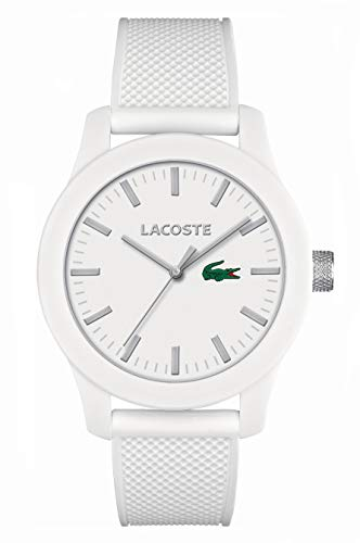 Lacoste Herren-Armbanduhr XL L.12.12 Analog Quarz Silikon 2010762