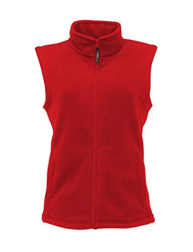 Microfleece le gilet des femmes Classic Red