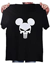 Mouse Skull - Punisher - Novelty Gift - Custom Unisex Adult Tshirt