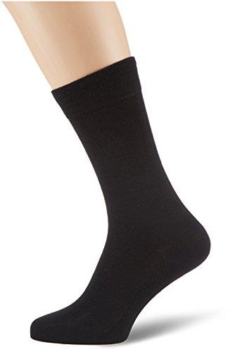 Hudson Herren Socken, 014260 Dry Wool, Gr. 39/42, Schwarz (Black 0005)