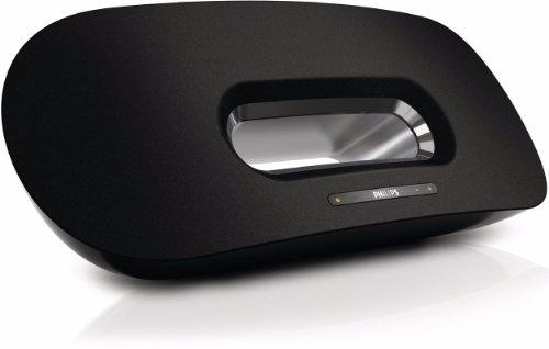 Philips Fidelio DS8800W AirPlay Speaker für iPad/iPhone (MP3-Link, USB Port zum Laden, WLAN) schwarz