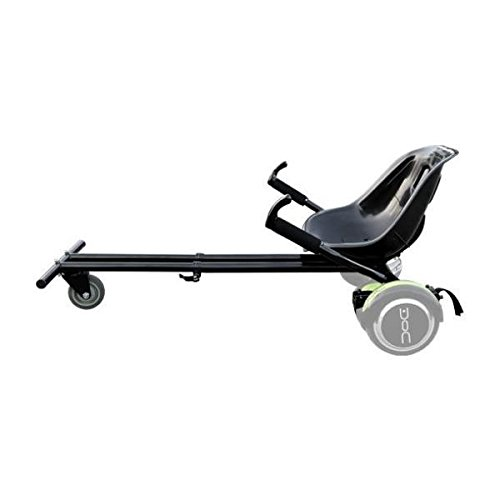 Nilox Doc Kart Accessorio per Hoverboard, Nero, 96 x 50 x 38...