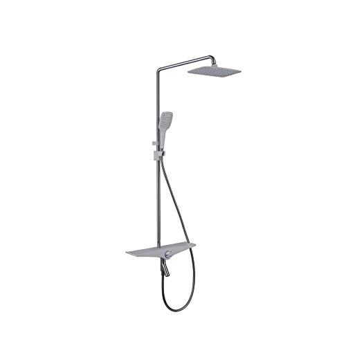 YZ-YUAN Luxuriöses Regenset für das Badezimmer - Kann in das Hauptgehäuseset eingesetzt Werden - Wandmontiertes Kopfsystem - Dreifach drehbares Kopf-Thermostat-Set Baby Gap Outlet