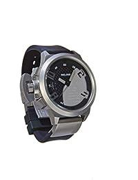 Welder K24-3003 - Reloj para hombres, correa de goma color negro