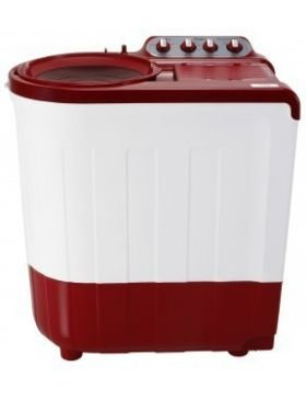 Supersoak Whirlpool ACE 8.0 Semi-Automatic Top-loading Washing Machine (8 Kg, Coral Red)