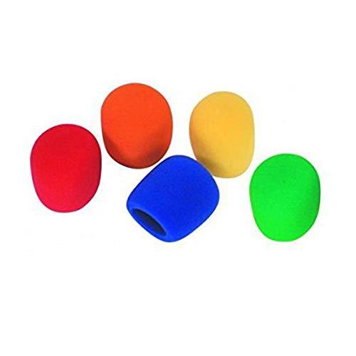 Aofocy Auriculares micrófono incom micrófono Esponja Protector de Tiro 5 Piezas Juego Color 5 Colores