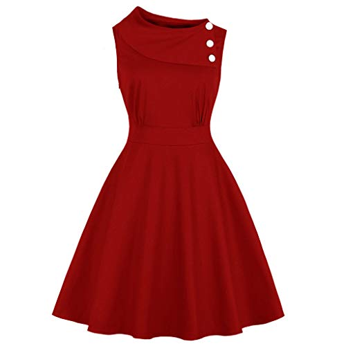 Porlous Damen Tunika Kleid Beige Rouge Marine One Size Gr. 62, Rouge-4