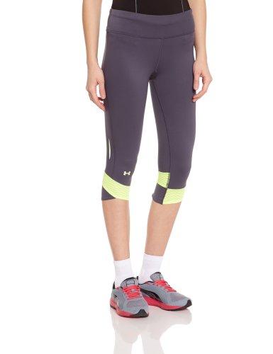 Under Armour - Pantaloni sportivi elasticizzati da donna grigio - Piombo/Raggi X/Riflettente