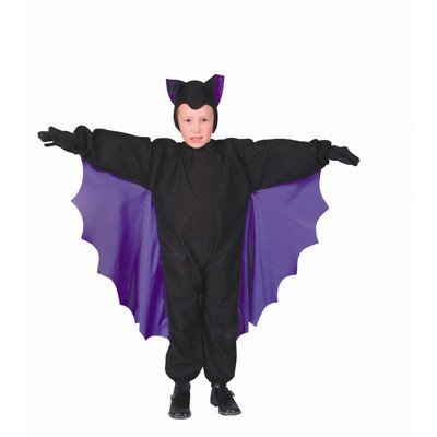 Bat Wings Costume Uk - Cute - T - Bat Wings (Purple;Child