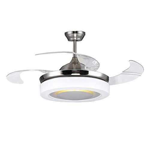 Ventilador techo Luz LED Sala De Estar Lámpara De