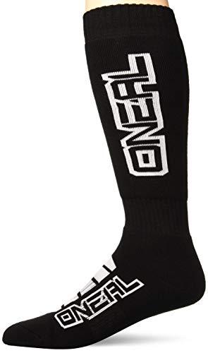 O'Neal Pro MX Corp Knie Socken Strümpfe Motocross Enduro Offroad Downhill DH Komfort, 0356-73, Farbe schwarz