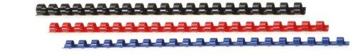 Genie 11099 Spiralbinderücken Set (DIN A4, geeignet für alle Spiralbindegeräte, 6 mm, 8 mm, 10 mm und 12 mm) 20er Pack