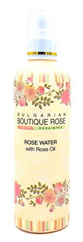 Agua de Rosa con Spray con Aceite Natural de Rosa 330ml de Boutique Ro