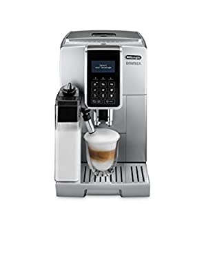 Delonghi ECAM 350.75.s Pod Coffee Machine 1.8L–Coffee (Freestanding, fully automatic, Pod Coffee Machine, Coffee Beans, Ground Coffee, Silver, Sensor)