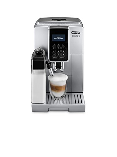 Delonghi Ecam 35075s Pod Coffee Machine 18l Coffee Freestanding Fully Automatic Pod Coffee Machine Coffee Beans Ground Coffee Silver