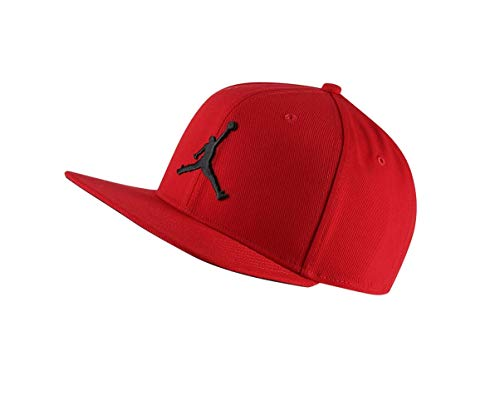 Nike Jordan Pro Jumpman Snapback Cap (one Size, red/Black) Jordan Black Hat