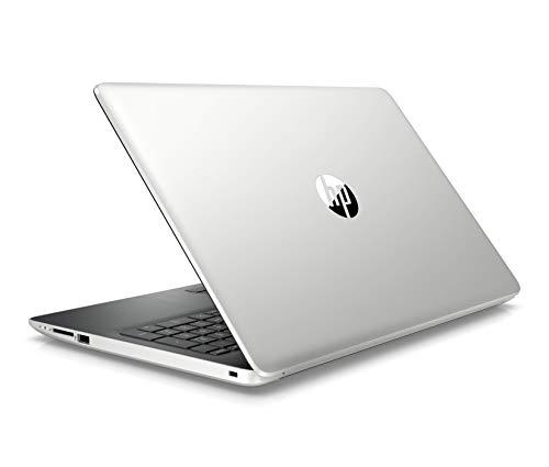 HP 15-da1009nf PC Portable 15,6'' FHD Argent (Intel Core i5-8265U, 4 Go de RAM, 1 To de Stockage, NVIDIA GeForce MX110 2 Go, AZERTY, Windows 10)