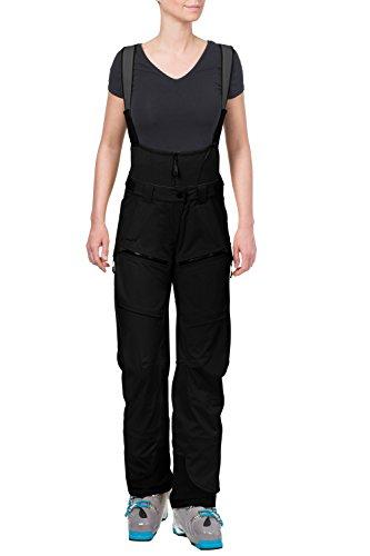 VAUDE Damen Hose Boe Bib Pant, Black, 40, 05184 (Bekleidung Boa)