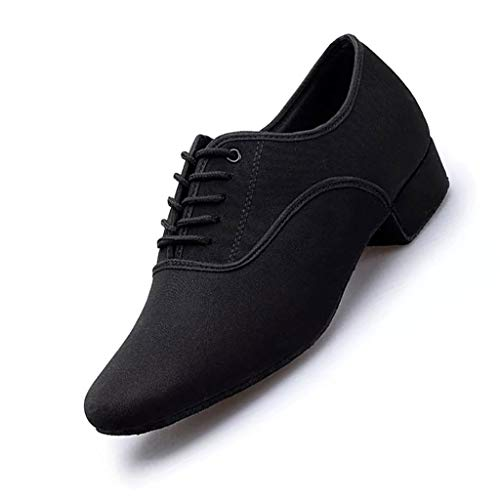 LPZ Zapatos Baile Latino Zapatos Cuero Transpirables