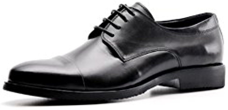ZPEDY Zapatos De Vestir De Negocios Casuales De Los Hombres De La Primavera Zapatos De Boda Cómodos Respirable -