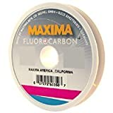Maxima Fishing Line Fluorocarbon Schnur Leader Wheel, Clear, 25-pound/27-yard by Maxima Fishing Line