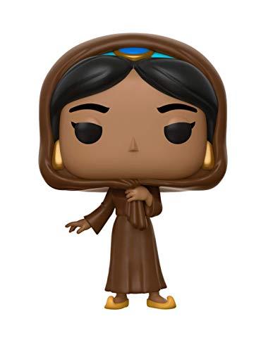 Funko- Pop Vinyl: Disney: Aladdin: Jasmine in Disguise w/Chase Figura de Vinilo Iago, (35754)