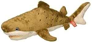 Wild Republic-21479 Peluche Tiburón de Arena Cuddlekins Color marrón 20 cm (21479