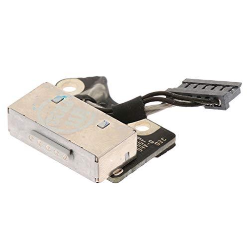Dc Power Jack Board (H HILABEE Power Jack Board Kabel DC In Anschluss Für MacBook Pro Retina A1398)