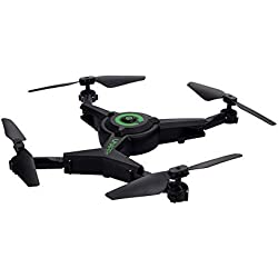 Quadcopter Drone con cámara de vídeo en vivo, ARRIS Drone plegable 2.4 g WiFi FPV Pocket Quadcopter RTF con 720p MP HD cámara-altitud Hold/sin cabeza/una tecla de despegue/aterrizaje/App control