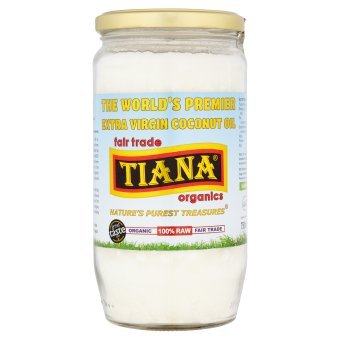 TIANA Fair Trade Organics Raw Extra Virgin Coconut Oil - 750 ml from TIANA