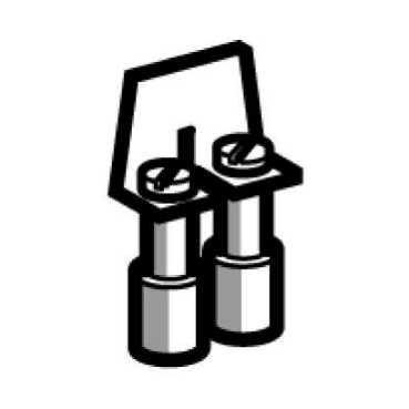 SCHNEIDER ELEC PBT - SYS 00 01 - PUENTE UNION 2 5MM2